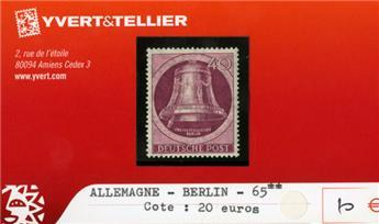 ALLEMAGNE BERLIN - n°65 **
