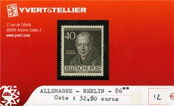 ALLEMAGNE BERLIN - n°86 **