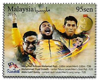 n° 1875 - Timbre MALAYSIA Poste