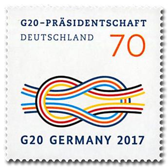 n° 3080 - Timbre ALLEMAGNE FEDERALE Poste