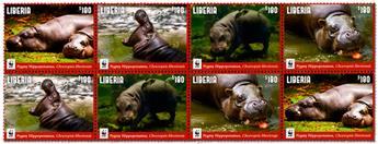 n° 5833/5836 - Timbre LIBERIA Poste