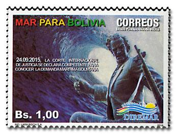 n° 1601 - Timbre BOLIVIE Poste