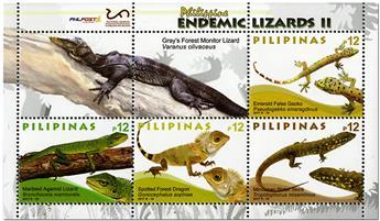 n° 373 - Timbre PHILIPPINES Blocs et feuillets