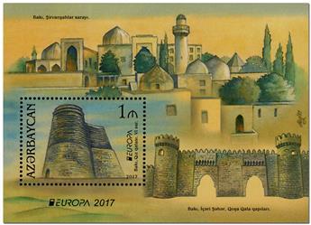 n° 152 - Timbre AZERBAIDJAN Blocs et feuillets (EUROPA)