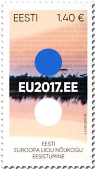 n° 825 - Timbre ESTONIE Poste