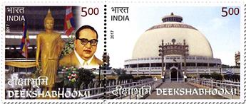 n° 2840/2841 - Timbre INDE Poste