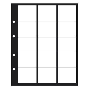 Feuilles PREMIUM 15 CASES JUSQU´A 44 mm - SAFE® (x2)