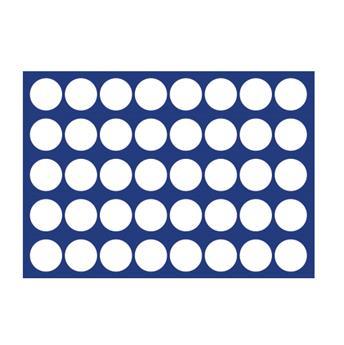 """PLATEAU """"MALETTE DIAMANT"""" (40 CASES RONDES : Ø 26mm ) - SAFE®"""