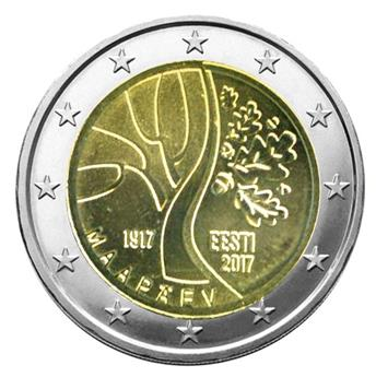 2 EURO COMMEMORATIVE 2017 : ESTONIE ( Route vers l´indépendance)