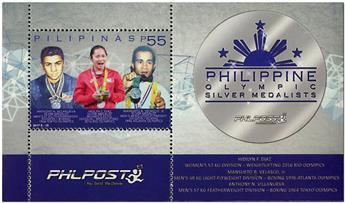 n° 375 - Timbre PHILIPPINES Blocs et feuillets