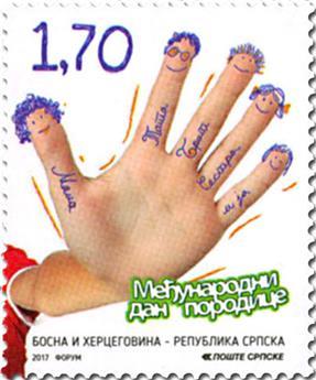 n° 663 - Timbre REPUBLIQUE SERBE (DE BOSNIE) Poste