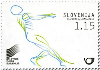 n° 1050 - Timbre SLOVENIE Poste