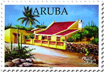 n° 949/956 - Timbre ARUBA Poste