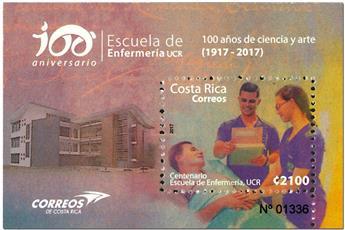 n° 53 - Timbre COSTA RICA Blocs et feuillets