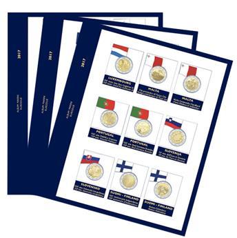 Recharges 2 EUROS commémoratifs 2017 - MARINI®