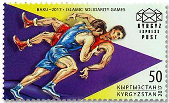 n° 50/53 - Timbre KIRGHIZISTAN (Kyrgyz Express Post) Poste