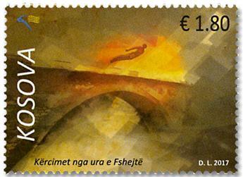 n° 251 - Timbre KOSOVO Poste
