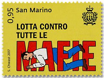 n° 2514/2516 - Timbre SAINT-MARIN Poste