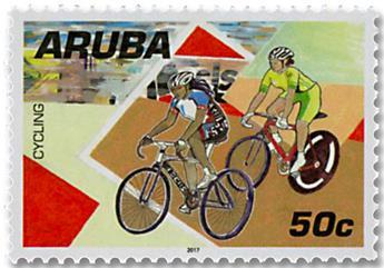n° 957/964 - Timbre ARUBA Poste