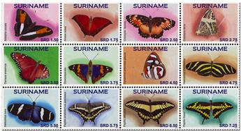 n° 2690/2701 - Timbre SURINAME Poste