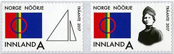 n° 1868/1869 - Timbre NORVEGE Poste