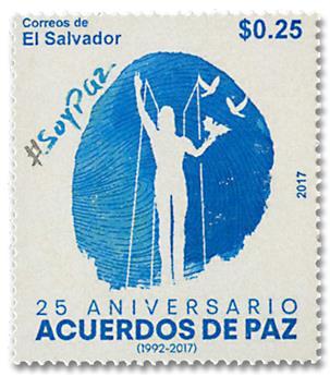 n° 1881 - Timbre SALVADOR Poste
