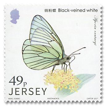 n° 2228/2233 - Timbre JERSEY Poste