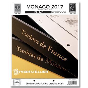 MONACO MS : 2017 (jeux sans pochettes)