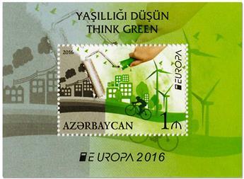 n° 143 - Timbre AZERBAIDJAN Blocs et feuillets (EUROPA)