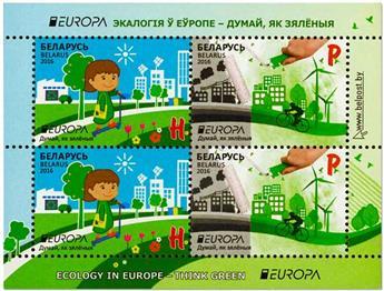 n° 130 - Timbre BIELORUSSIE Blocs et feuillets (EUROPA)