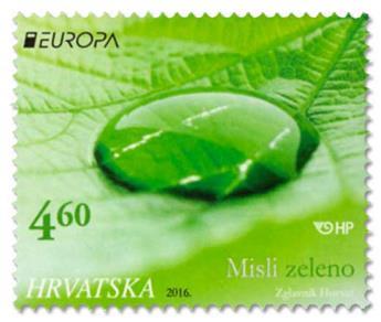 n° 1137/1138 - Timbre CROATIE Poste (EUROPA )