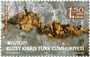n° 791/792 - Timbre CHYPRE TURC Poste (EUROPA)