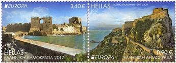 n° 2859/2860 - Timbre GRECE Poste (EUROPA)