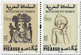 n° 1746/1747 - Timbre MAROC Poste