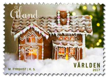 n° 446/447 - Timbre ALAND Poste