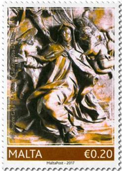 n° 1891/1895 - Timbre MALTE Poste