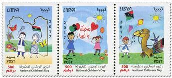 n° 2667/2669 - Timbre LIBYE Poste