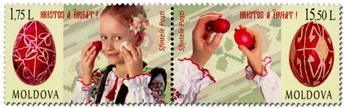 n° 863/864 - Timbre MOLDAVIE Poste