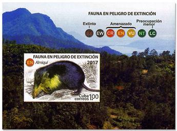 n° 338 - Timbre CUBA Blocs et feuillets
