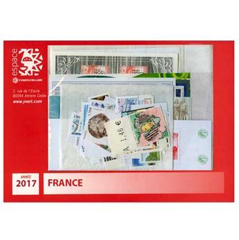 n° F5116/5197  - Timbre France Année complète (2017)