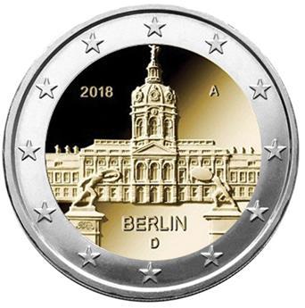 2 EURO COMMEMORATIVE 2018 : ALLEMAGNE (BERLIN)