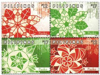 n°4077/4080 - Timbre PHILIPPINES Poste