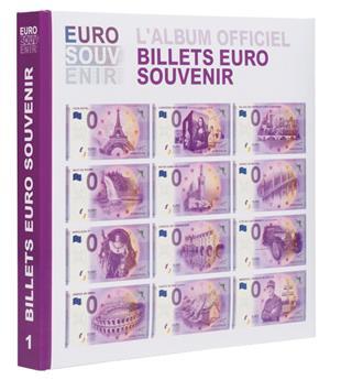 """Album imprimé pour billets """"EURO SOUVENIR"""" Tome 1 LEUCHTTURM"""