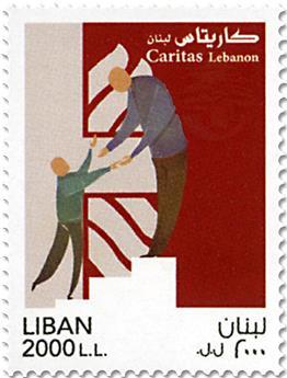 n° 581 - Timbre LIBAN Poste