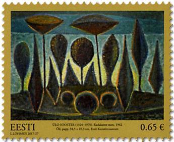n° 837 - Timbre ESTONIE Poste