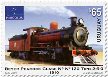 n° 2856 - Timbre URUGUAY Poste