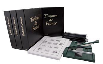 Album FUTURA FS I-II-III-IV + jeux FS France 1849-2016 (en cadeau Massicot et Assortiment de bandes)