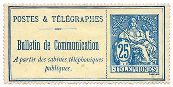n°24(*) - Timbre FRANCE Téléphone