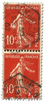n°138c obl. - Timbre FRANCE Poste