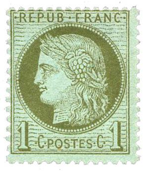n°50(*) - Timbre FRANCE Poste